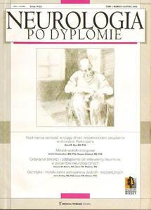 NEUROLOGIA PO DYPLOMIE. TOM 1 NR 4. LIPIEC 2006 [antykwariat] - 2834461358