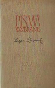 Stefan Żeromski PISMA WYBRANE [antykwariat] - 2834461464
