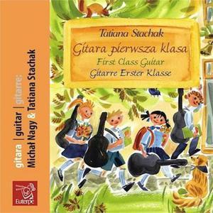 GITARA PIERWSZA KLASA [1 CD] Tatiana Stachak - 2834461477