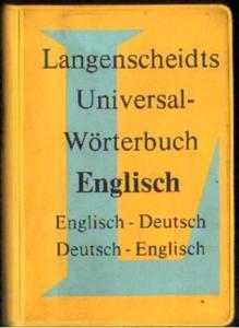 UNIVERSAL-WORTERBUCH ENGLISCH [antykwariat] - 2861021460