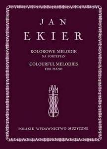 Jan Ekier KOLOROWE MELODIE NA FORTEPIAN + CD - 2834461920