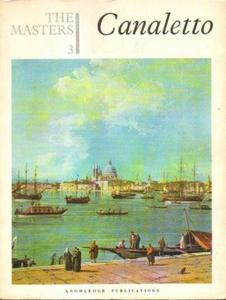 THE MASTERS. BOOK 3: CANALETTO [antykwariat] - 2834462258