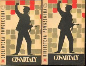 CZWARTACY. WSPOMNIENIA BYŁYCH ŻOŁNIERZY SZTURMOWEGO BATALIONU AL IM. CZWARTAKÓW (1943-1945). TOM 1-2 [antykwariat] - 2834462267