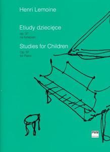 Henri Lemoine ETIUDY DZIECIĘCE OP. 37 NA FORTEPIAN (WYBÓR) - 2834462313