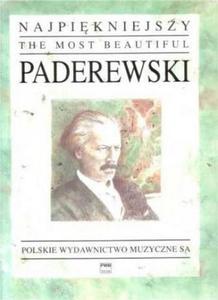 Ignacy Jan Paderewski NAJPIĘKNIEJSZY PADEREWSKI NA FORTEPIAN - 2834462322