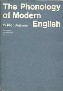 Wiktor Jassem THE PHONOLOGY OF MODERN ENGLISH [antykwariat] - 2834462364