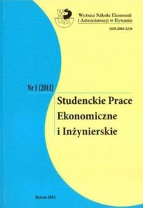 STUDENCKIE PRACE EKONOMICZNE I IN - 2861022973