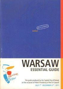 WARSAW. ESSENTIAL GUIDE [antykwariat] - 2834462692