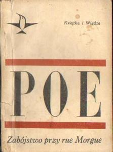 Edgar Allan Poe ZABÓJSTWO PRZY RUE MORGUE. OPOWIADANIA [antykwariat] - 2834462784