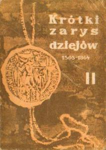 Ryszard Pietrzykowski KRÓTKI ZARYS DZIEJÓW POLSKI 1505-1864 [antykwariat] - 2834462787
