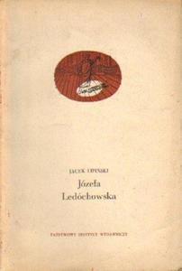 Jacek Lipiński JÓZEFA LEDÓCHOWSKA [antykwariat] - 2835887952