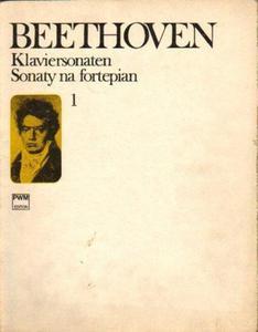 Ludwig van Beethoven SONATY NA FORTEPIAN. CZĘŚĆ 1 [antykwariat] - 2835887955