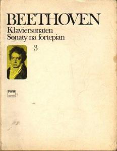 Ludwig van Beethoven SONATY NA FORTEPIAN. CZĘŚĆ 3 [antykwariat] - 2835887956