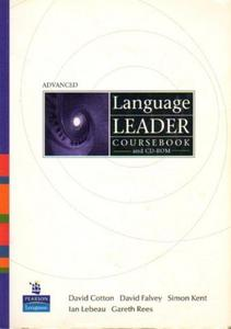 LANGUAGE LEADER ADVANCED. COURSEBOOK AND CD-ROM [antykwariat] - 2839150133