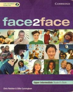 Chris Redston, Gillie Cunningham FACE2FACE. UPPER INTERMEDIATE. STUDENT'S BOOK [antykwariat] - 2839150135