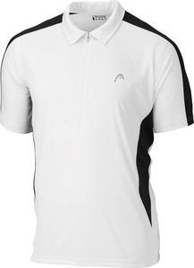 Koszulka Polo męska Head Club Men (biało-czarna) / GWARANCJA 24 MSC. / Tanie RATY - 2822242979