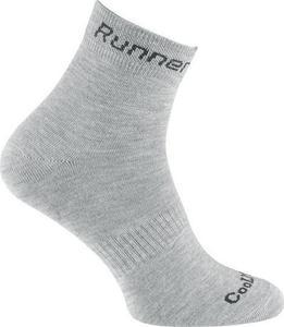 Skarpety Runner Expansive (popielate) / GWARANCJA 12 MSC. - 2822242987