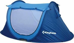Namiot 2-osobowy samorozkładający się King Camp Venice (niebieski) / Tanie RATY - 2822243129