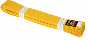 Pas do kimona 220cm Bushindo (żółty) - 2822243570