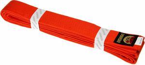 Pas do kimona 260cm Bushindo (pomarańczowy) - 2822243573
