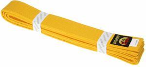 Pas do kimona 300cm Bushindo (żółty) - 2822243579
