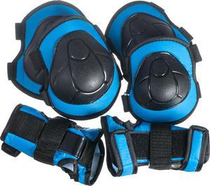 Zestaw ochraniaczy na rolki H110 Nils (niebieski) - 2852787387