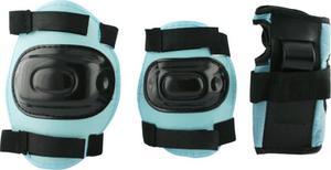 Zestaw ochraniaczy na rolki H108 Nils (niebieski) - 2852526357