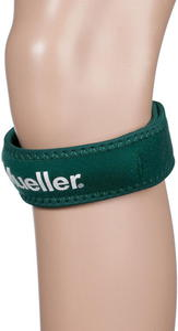 Opaska podrzepkowa na kolano Mueller (zielona) - 2822243842