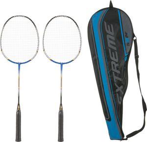 Zestaw rakiet do badmintona z pokrowcem Extreme Axer - 2822243929