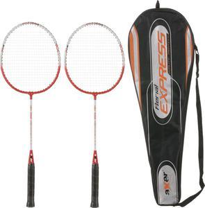 Zestaw rakiet do badmintona z pokrowcem Express Axer - 2822244057