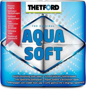 Papier toaletowy do toalet chemicznych 4 sztuki Aqua Soft Thetford / GWARANCJA 12 MSC. - 2822244133