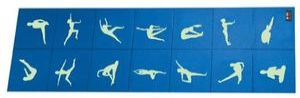 Mata do jogi składana 4mm BB 8301 Body Sculpture / GWARANCJA 24 MSC. - 2822244551