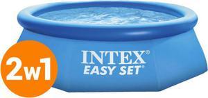 Basen rozporowy 244x76cm Easy Set z pompą 3w1 28112 Intex / GWARANCJA 24 MSC. / Tanie RATY - 2836253591