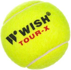 Piłki do tenisa ziemnego Wish Tour-X 830 3 szt. - 2822245702