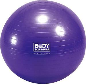 Piłka gimnastyczna 75cm Body Sculpture BB 001 (fioletowa) / GWARANCJA 12 MSC. - 2822246179