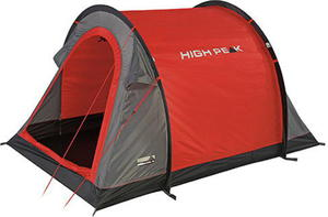 Namiot 2-osobowy samorozkładający się Stella 2 High Peak (czerwony) / Tanie RATY - 2822247109