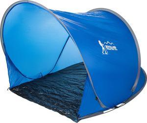 Namiot plażowy Pop Up samorozkładający 145x110 Royokamp (niebieski) - 2847900005