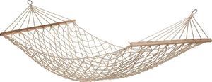Hamak sznurkowy 80x200cm Royokamp (biały) - 2822247294