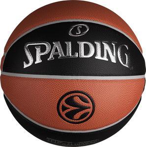 Piłka do koszykówki Euroleague Legacy 7 Spalding / Tanie RATY / DOSTAWA GRATIS !!! - 2822247347