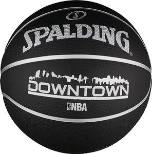 Piłka do koszykówki NBA Downtown Black 7 Spalding - 2822247476