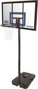Stojak z tablicą akrylową do koszykówki NBA Highlight Spalding / Tanie RATY / DOSTAWA GRATIS !!! - 2822247478