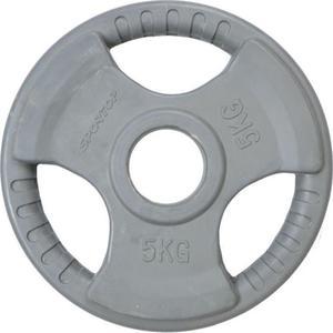 Obciążenie olimpijskie żeliwne ogumowane 5kg 51mm Sportop - 2822248541
