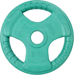 Obciążenie olimpijskie żeliwne ogumowane 10kg 51mm Sportop / Tanie RATY - 2822248543