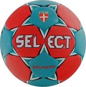 Piłka ręczna Mundo Senior/Gents 3 Select (czerwono-turkusowa) - 2822248552
