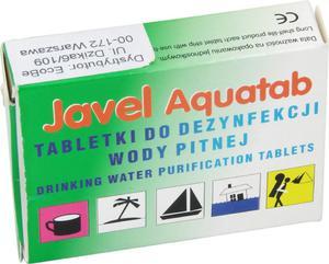 Tabletki do dezynfekcji wody pitnej Javel Aquatab 60szt. Bushmen - 2822248583