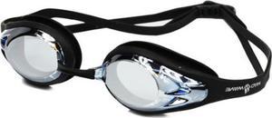 Okulary pływackie Alligator Mirror Mad Wave (czarne) - 2822248736
