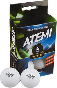 Piłeczki do ping-ponga *** 6szt. Atemi (białe) - 2822249221
