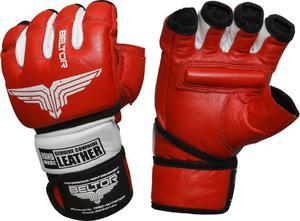 Rękawice MMA Combat Beltor (czerwono-białe) / Tanie RATY - 2822250539