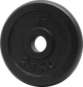 Obciążenie czarne żeliwne 2,5kg 29mm Platinum Fitness - 2822250597