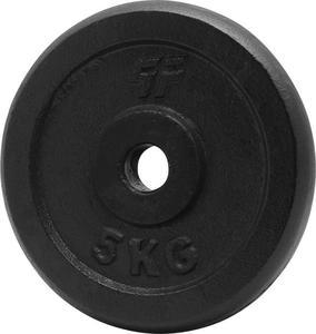 Obciążenie czarne żeliwne 5kg 29mm Platinum Fitness - 2822250598